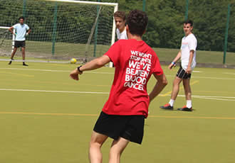 24-hour Sixth Form football game